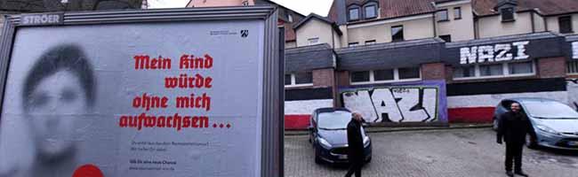Werbung für den Ausstieg: Neonazis instrumentalisieren eine Plakataktion des Innenministeriums in Dortmund-Dorstfeld