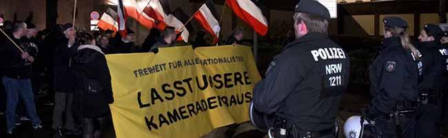 """Die rechtsextreme Szene in Dortmund ist nach Ansicht der Polizei """"so schwach wie seit Jahrzehnten nicht mehr"""""""