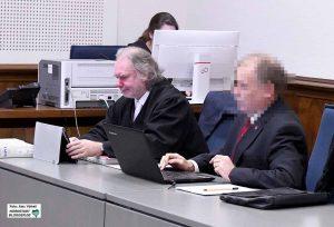 Die Strategie von Klaus Schäfer und seinem Verteidiger ging vor dem Landgericht nicht auf.