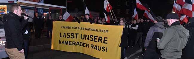 Neonazis demonstrieren heute Abend gegen die Inhaftierung ihrer Kameraden vor der JVA – Antifa kündigt Gegenprotest an