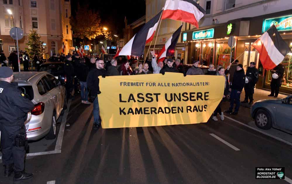 Nach einer Demo durch Marten soll am 21. Dezember eine Demo vom Polizeipräsidium zum Gerichtsviertel führen. Fotos: Alex Völkel
