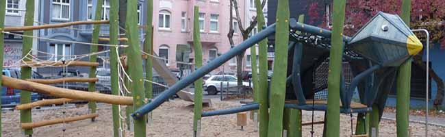 Eröffnungsfeier für neuen Kinderspielplatz im Unionviertel