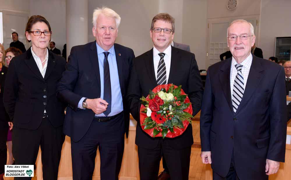 Der Rat wählt Arnulf Rybicki zum neuen Dezernenten für Bauen und Infrastruktur in Dortmund.