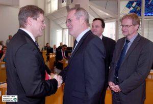 Der Rat wählt Arnulf Rybicki zum neuen Dezernenten für Bauen und Infrastruktur in Dortmund und zum Nachfolger von Martin Lürwer.
