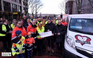 Der Malteser Hilfsdienst, die Katholische Stadtkirche und die Katholische St.-Johannes-Gesellschaft haben das Projekt Wärmebus gestartet, um Obdachlosen zu helfen.