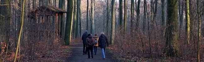 Eine Tradition tut Körper und Seele gut: die Wanderung mit der Markusgemeinde aus der Nordstadt zum Jahresende