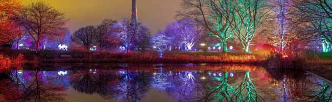 Ab Nikolaus geht's los: Die Pinguin-Parade zieht beim Winterleuchten durch den Westfalenpark Dortmund