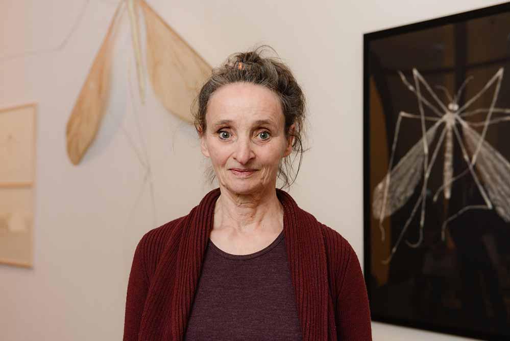 """Der mit 10.000 Euro dotierte Kunstpreis """"Follow me Dada and Fluxus"""" ging an Künstlerin Lili Fischer. Fotos: Roland Gorecki"""