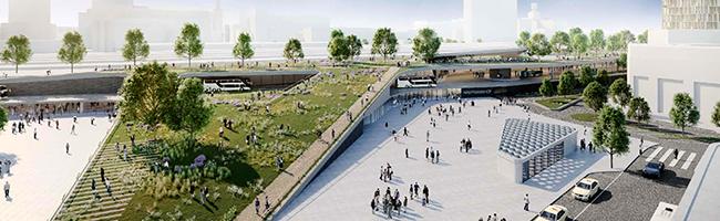 Hauptbahnhof 4.0: Über eine halbe Milliarde Euro soll in die Entwicklung des Areals auf der Nordseite fließen