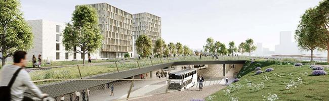 """""""Ein ganz großer Wurf für Dortmund"""": Auf der Nordseite des Hauptbahnhofs soll ein neues urbanes Stadtquartier entstehen"""