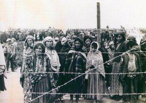 Roma 1940 vor Transport ins Vernichtungslager Belzec. Foto: privat