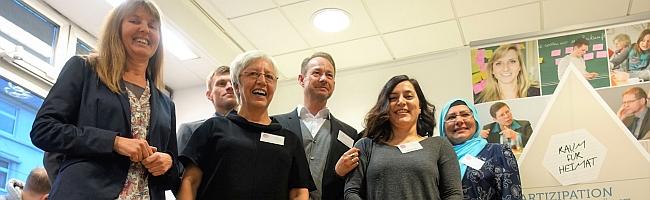 FOTOSTRECKE: Eröffnung des neuen Quartierstreffs im Concordia-Haus am Borsigplatz sorgt für freudige Gesichter