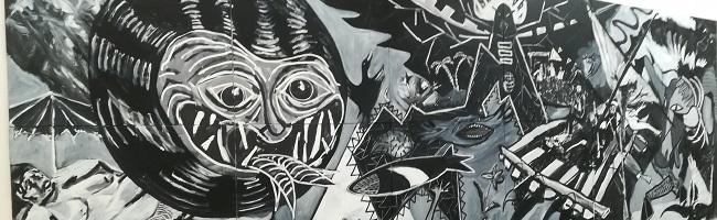 """""""Zur Größe bestimmt!"""" – die neue Ausstellung zu moderner, großformatiger Malerei im Künstlerhaus Dortmund"""