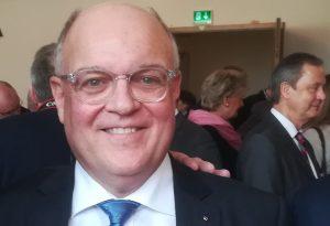 Cityring 2019 Verleihung, Preisträger Haral Becker Schulleiter der WIHOGA Dortmund