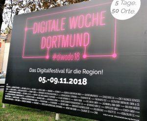 Die Stadt ist digital unterwegs.