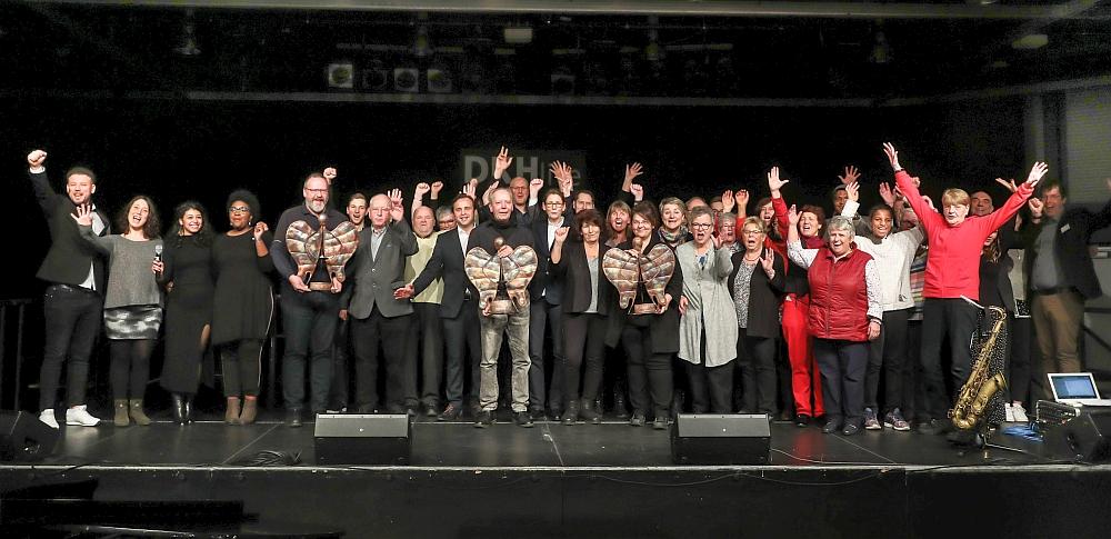 Neujahrsempfang im DKH: Preisverleihung Engel der Nordstadt