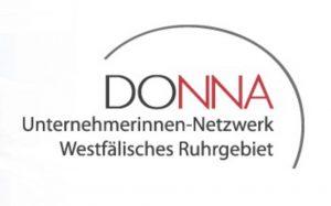 Logo des Unternemerinnen-Netzwerks DONNA.