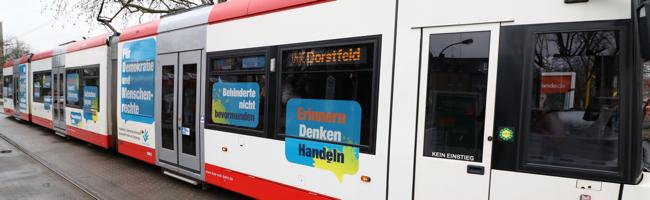 Holocaust-Gedenktag in Dortmund: Mit der Gedenkbahn Erinnerung in den Alltag der Menschen bringen