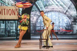 Begeisterten das Publikum mit ihrer Kür: Olympiasieger Aljona Savchenko und Bruno Massot.