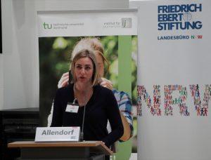 Henrike Allendorf von der Friedrich Ebert Stiftung