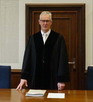 Der Vorsitzende Richter Beckers verkündete das Urteil.