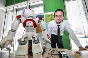 Bei der Innovations-Show stellten sich Unternehmen aus der Region vor.