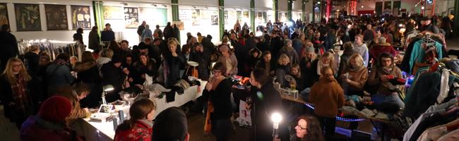 FOTOSTRECKE: Nachtflohmarkt im Depot feiert sein zehnjähriges Bestehen in der Nordstadt