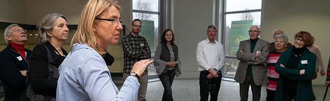 Volles Haus in (noch) leeren Räumen: Neujahrsempfang im Naturkundemuseum – Eröffnungstermin  lässt auf sich warten