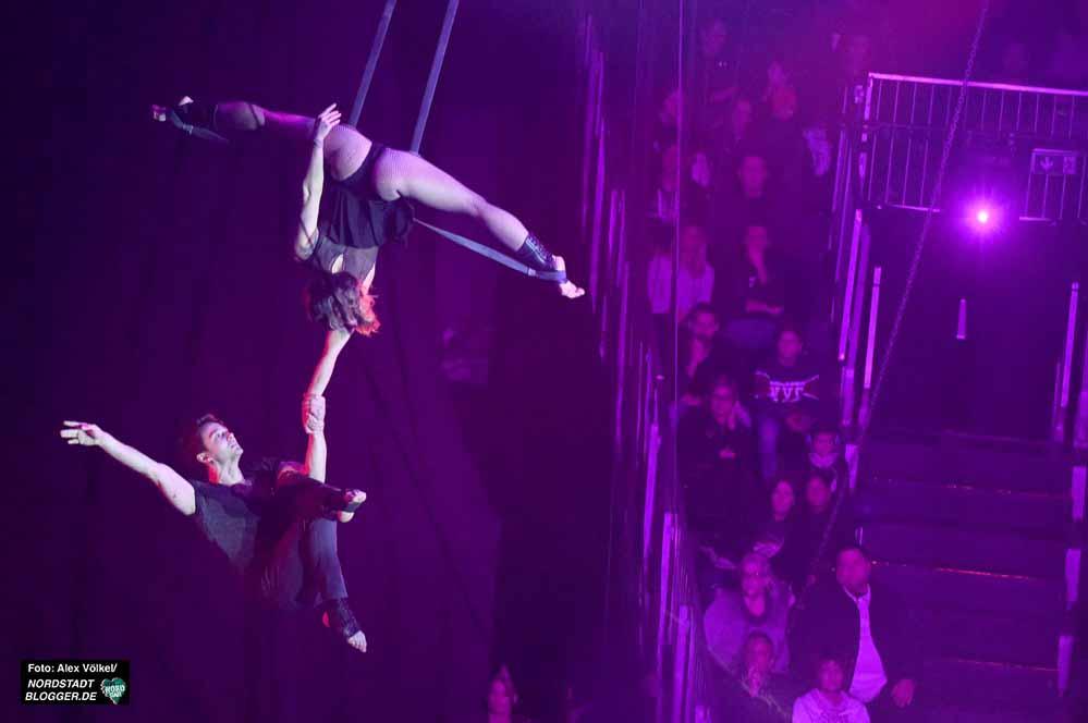 Der Circus Flic Flac präsentierte erstklassige Artistik und atemberaubende Shows. Fotos: Alex Völkel