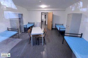 Statt Sechs- und Acht-Bett-Zimmer gibt es nun Zwei- und Vier-Bett-Zimmer an der Unionstraße.