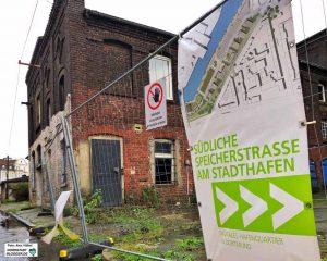 Zahlreiche Digital-Projekte sollen in der Speicherstraße angesiedelt werden.
