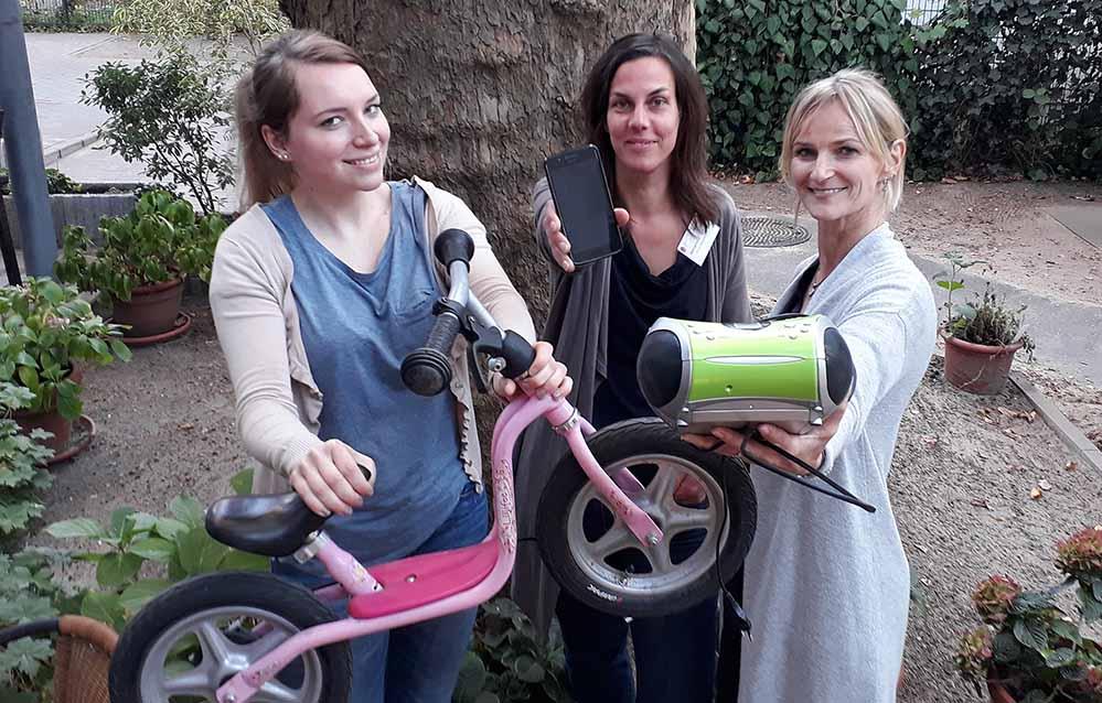 Laden ins Repair-Café ein: Claudia Kusch (Mütterzentrum), Anke Piepenstock (Mütterzentrum) und Tanja Tenholt (Seniorenbüro Innenstadt-West).