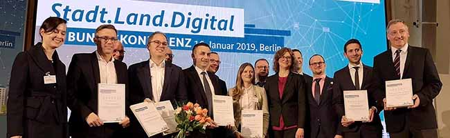 Allianz Smart City gewinnt den Wettbewerb Stadt.Land.Digital des Bundesministeriums für Wirtschaft und Energie