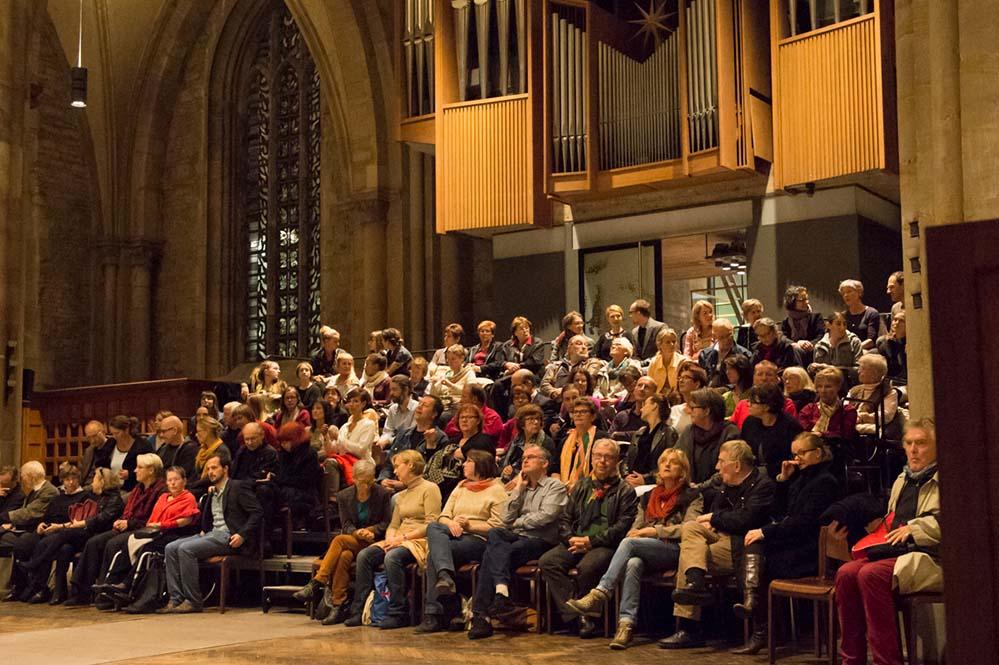 """Die morgige Veranstaltung ist die letzte der """"Bild und Klang""""-Reihe zum Europäischen Kulturerbe. Foto: Stadtkirche St. Reinoldi"""