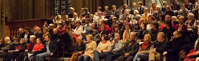 """Glaube, Politik, Kultur: TU Dortmund macht """"Grenzen"""" zum Thema bei der öffentlichen Vorlesung in der Reinoldikirche"""