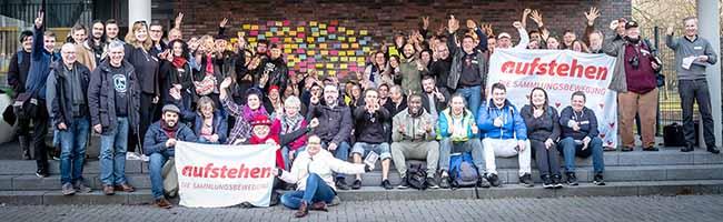 """AktionsCampus der Bewegung """"Aufstehen"""" im Westpark Dortmund – Kritik an öffentlichen Streitereien"""