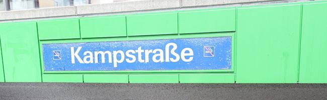 Innenstadt: Verbesserung der Barrierefreiheit an Haltestelle Kampstraße – Unterbrechung des Stadtbahnbetriebs