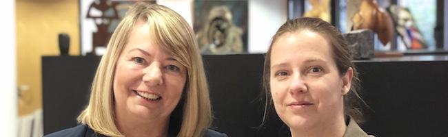 Was ist Illusion und was Realität? Gemeinsame Ausstellung von Mutter und Tochter in der Artothek Dortmund