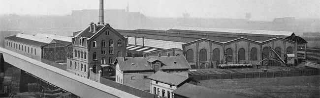 SERIE Nordstadt-Geschichte(n): Both & Tilmann bauten an der Glückaufstraße in Dortmund Weichen und Waggons
