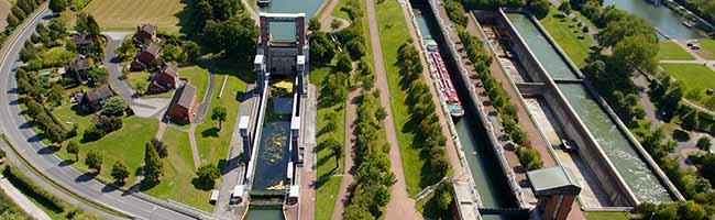 Vorrang für den Schiffsgüterverkehr: Geplante Sperrung der Schleuse Henrichenburg wird um ein Jahr verschoben