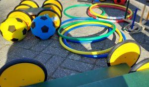Neues Spielgerät für die Diesterweg-Grundschule und Umgebung. Fotos: Thomas Engel