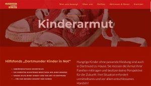 Screenshot der neuen Website.