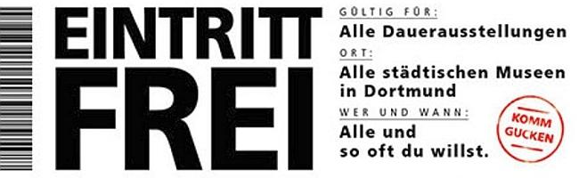 """""""Komm gucken"""": seit Anfang des Jahres kostenloser Eintritt in alle Dauerausstellungen der Dortmunder Museen"""