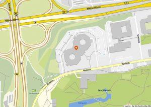 KitaConcept beabsichtigt eine fünfgruppige Kita mit 85 Plätzen gemeinsam mit dem Eigentümer Trinkaus Europa Immobilien-Fonds Dortmund an dem Standort Florianstraße 15 – 21 zu entwickeln. Karte: www.mapz.com