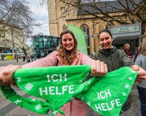 Für den Kirchentag in Dortmund werden noch 3000 Helfer*innen sowie Privatquartiere für Gäste gesucht. Foto: Stephan Schuetze/ Kirchenkreis