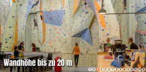 Die Kletterhalle Bergwerk ist der absolute Publikumsmagnet. Foto: Screenshot