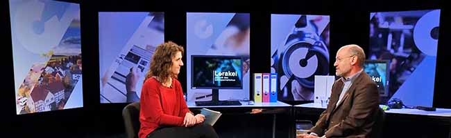 """Medien-Experten im TV-Interview: TU Dortmund startet neue TV-Sendereihe """"Lorakel"""" zur Zukunft des Lokaljournalismus"""