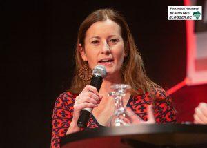 Janine Wissler, Stellvertretende Bundesvorsitzende der LINKEN zu Gast auf dem Neujahrsempfang der Fraktion Die Linke. Fotos: Klaus Hartmann