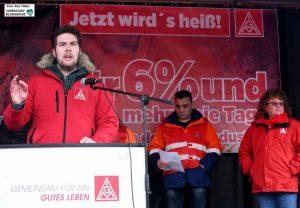 Betriebsrat Moritz Engels