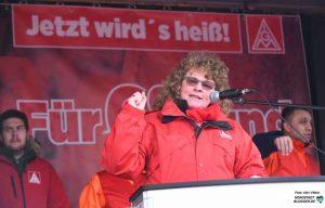 Ulrike Hölter, 1. Bevollmächtigte der IG Metall